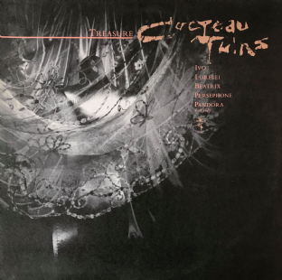 Cocteau Twins ‎- Treasure (LP) (VG-/VG)